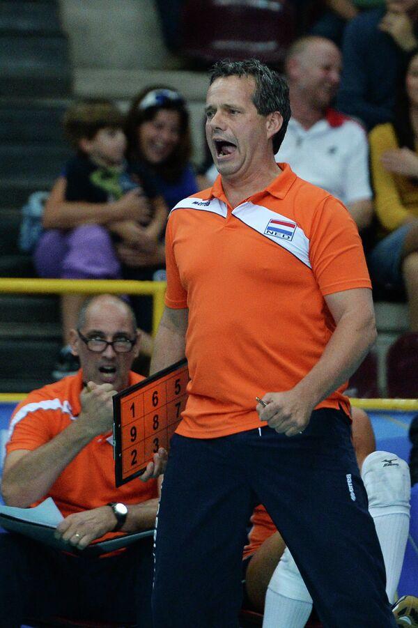 Главный тренер женской сборной Нидерландов по волейболу Гидо Вермелен