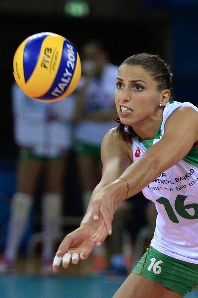 Доигровщица сборной Болгарии Элица Василева
