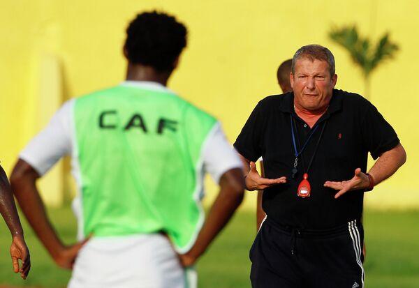 Главный тренер французского футбольного клуба «Монпелье» Ролан Курбис