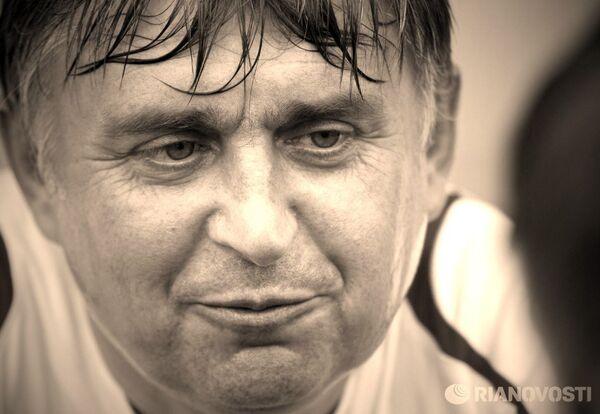 Легендарный советский футболист, тренер детских команд Федор Черенков