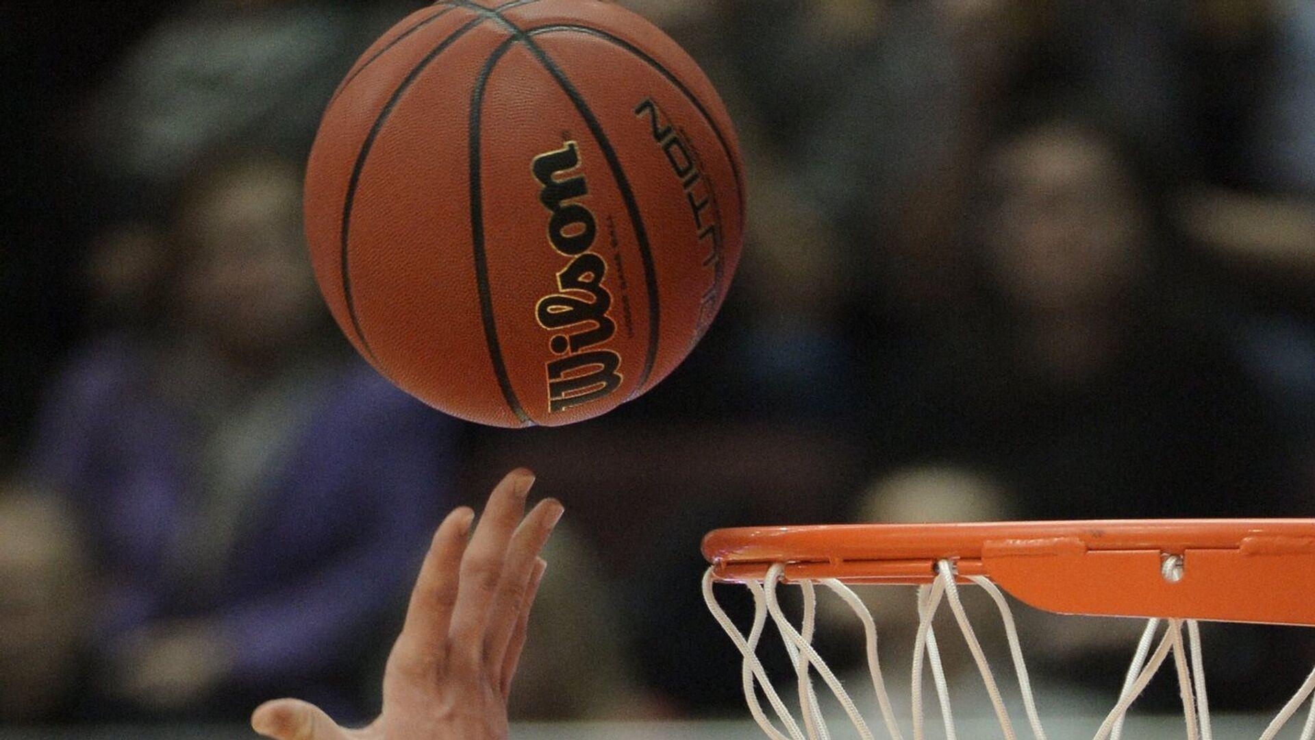 Баскетбольный мяч - РИА Новости, 1920, 01.11.2020