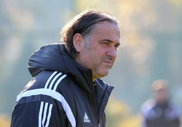Главный тренер футбольного клуба Локомотив Миодраг Божович.