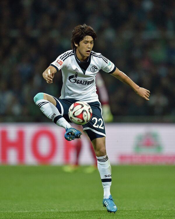 Защитник сборной Японии по футболу Ацуто Утида
