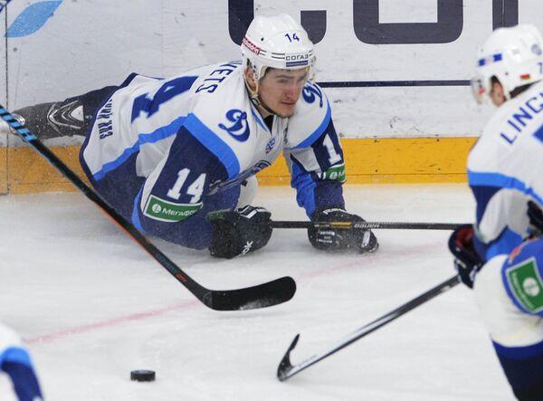 Защитник минского Динамо Евгений Лисовец