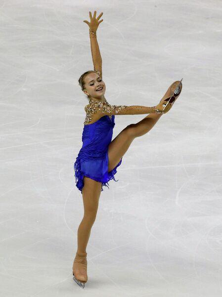 Российская фигуристка Елена Радионова