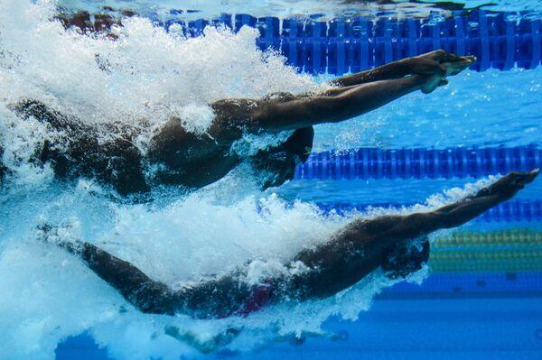 Плавание. Чемпионат мира на короткой воде. Четвертый день