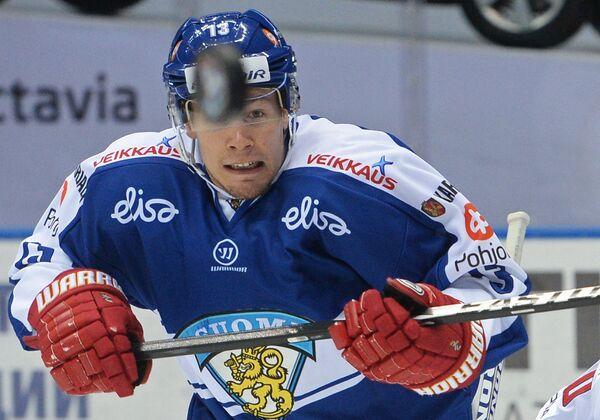 Форвард сборной Финляндии Петтери Виртанен