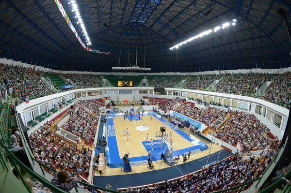 Спортивная арена Баскет-холл