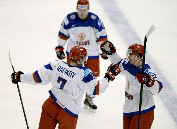 Рушан Рафиков (слева) и Павел Бучневич