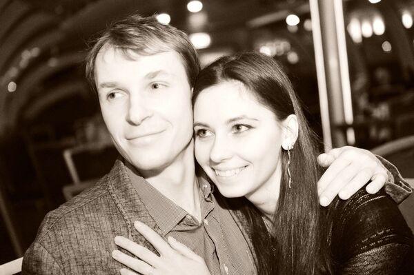 Евгений Лаленков и Евгения Дмитриева