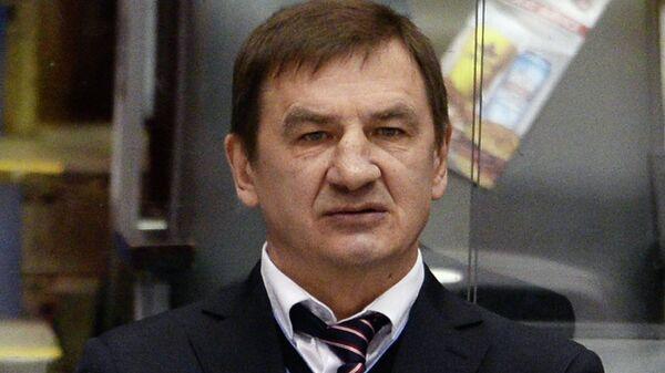 Главный тренер молодежной сборной России Валерий Брагин
