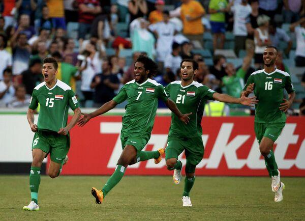 Футболисты сборной Ирака