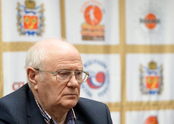 Председатель тренерского совета Российской Федерации баскетбола Евгений Гомельский