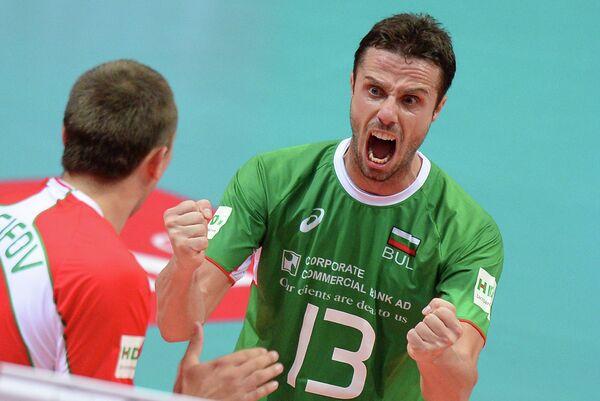 Либеро сборной Болгарии Теодор Салпаров