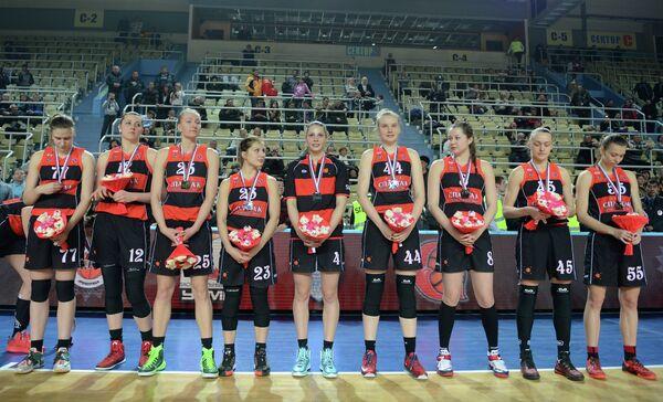 Баскетболистки команды Спарта энд К