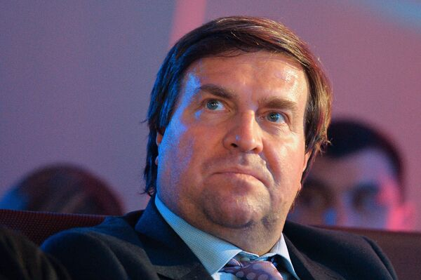 Президент Всероссийской федерации плавания, четырехкратный олимпийский чемпион Владимир Сальников