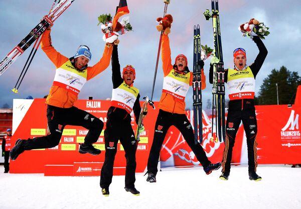 Мужская сборная Германии по лыжному двоеборью