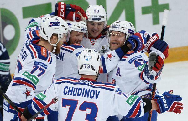 Хоккеисты СКА (Санкт-Петербург)