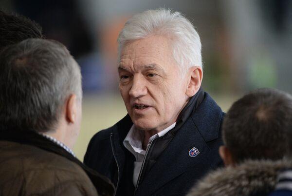 Президент ХК СКА (Санкт-Петербург) Геннадий Тимченко
