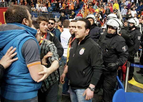 Болельщики турецкого Галатасарая