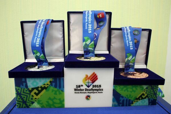 Медали зимних Сурдлимпийских игр 2015 года