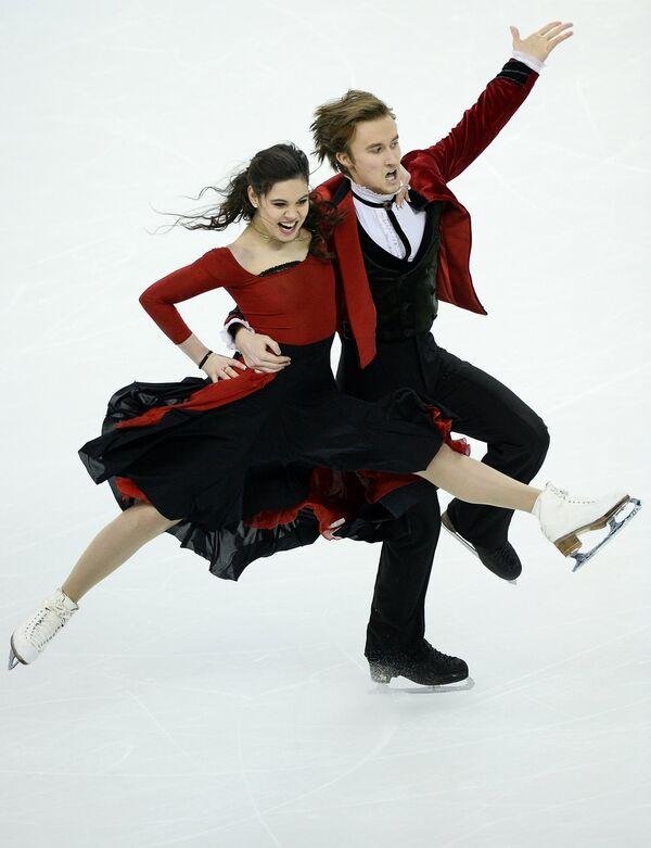 Елена Ильиных и Руслан Жиганшин (Россия)