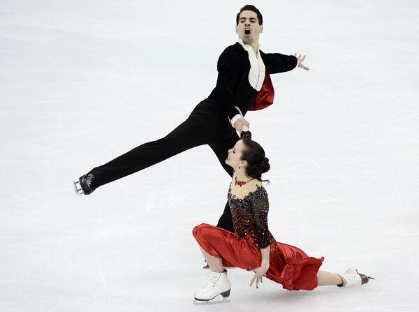 Анна Капеллини и Лука Ланотте (Италия)