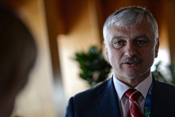 Президент Сурдлимпийского комитета России Александр Романцов