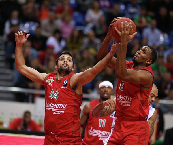 Баскетболисты Локомотив-Кубань