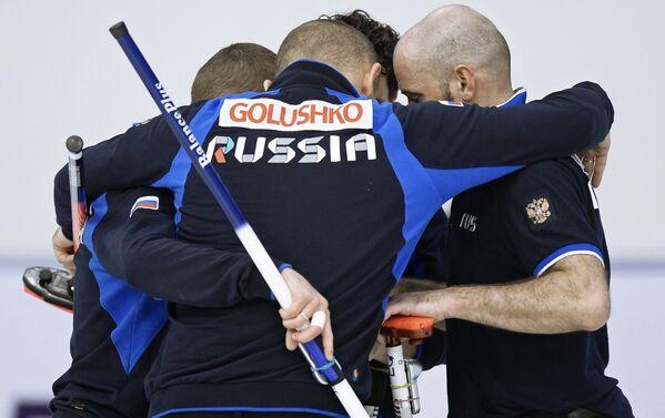Керлингисты сборной России на Сурдлимпиаде
