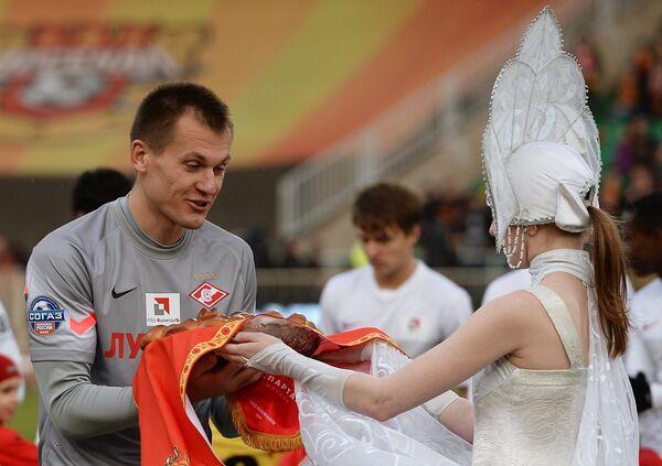 Вратарь ФК Спартак Артём Ребров