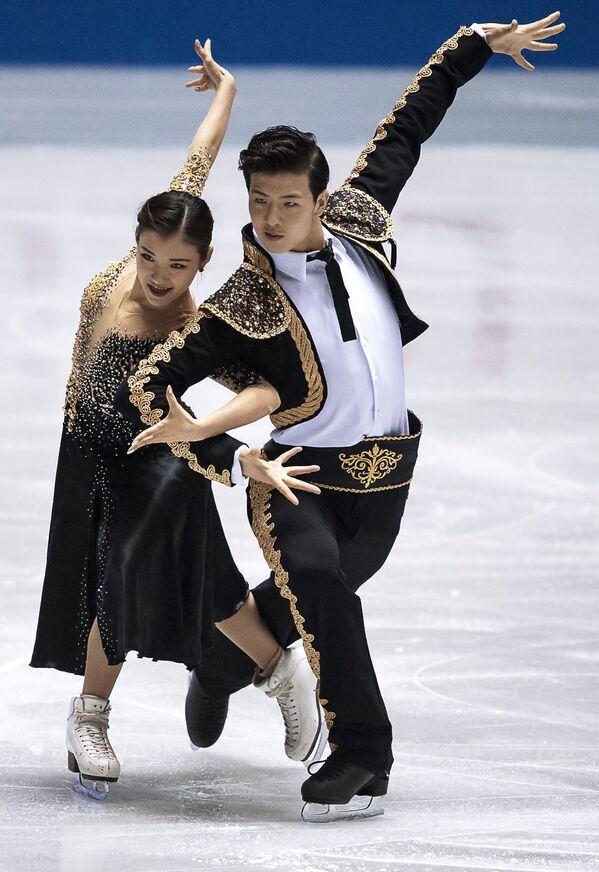 Ван Шиюэ и Лю Синьюй (Китай)