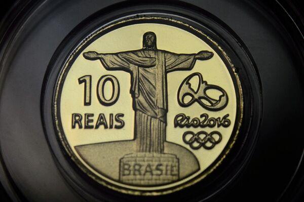 Памятная монета к летним Олимпийским и Паралимпийским играм 2016 года в Рио-де-Жанейро