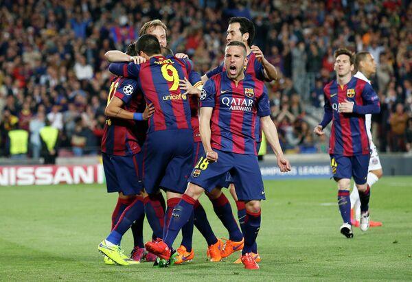 Игроки Барселоны