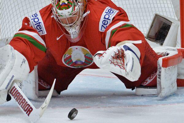 Вратарь сборной Белоруссии Кевин Лаланд