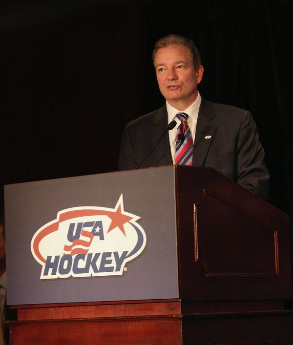 Генеральный менеджер клуба НХЛ Нью-Джерси Девилз Рэй Шеро.