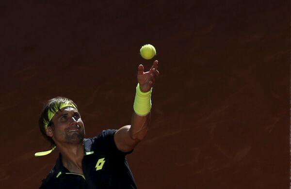 Испанский теннисист Давид Феррер