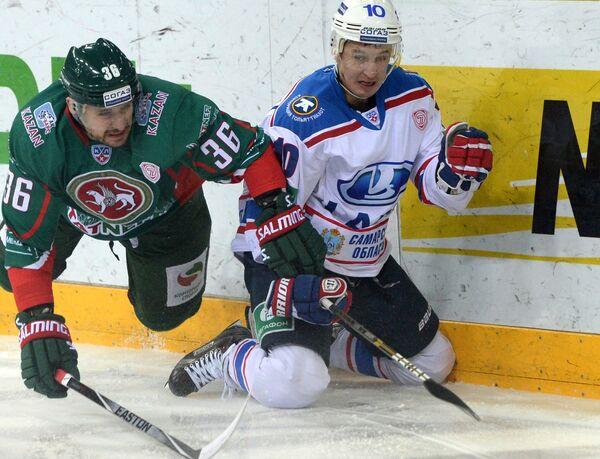 Яков Рылов (слева) и Александр Черников