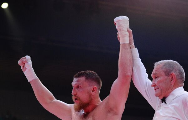 Российский боксер Дмитрий Кудряшов