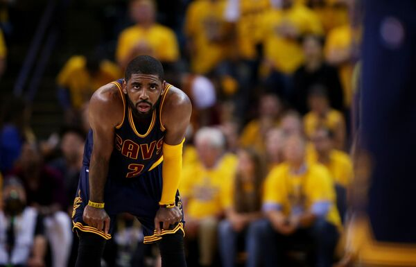 Разыгрывающий клуба НБА Кливленд Кавальерс Кайри Ирвинг