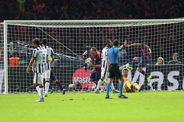 Гол в ворота Ювентуса в финальном матче Лиги чемпионов