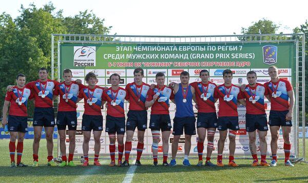 Игроки мужской сборной России по регби-7