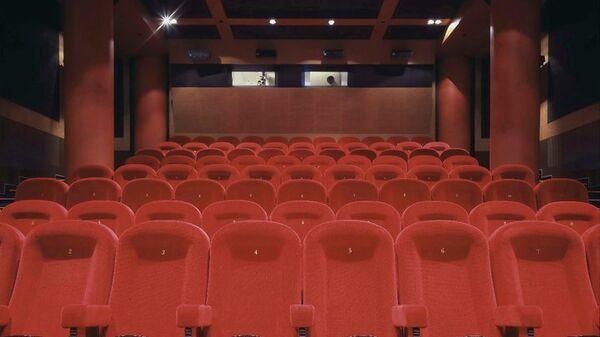 Зрительный зал кинотеатра Пионер