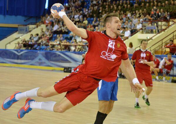 Игрок сборной России Глеб Калараш