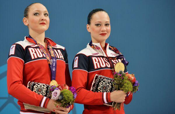 Дарья Кулагина и Валерия Филенкова (Россия)