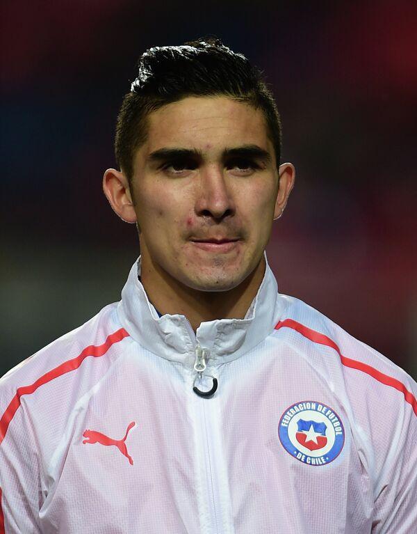 Атакующий полузащитник сборной Чили по футболу Фелипе Гутьеррес