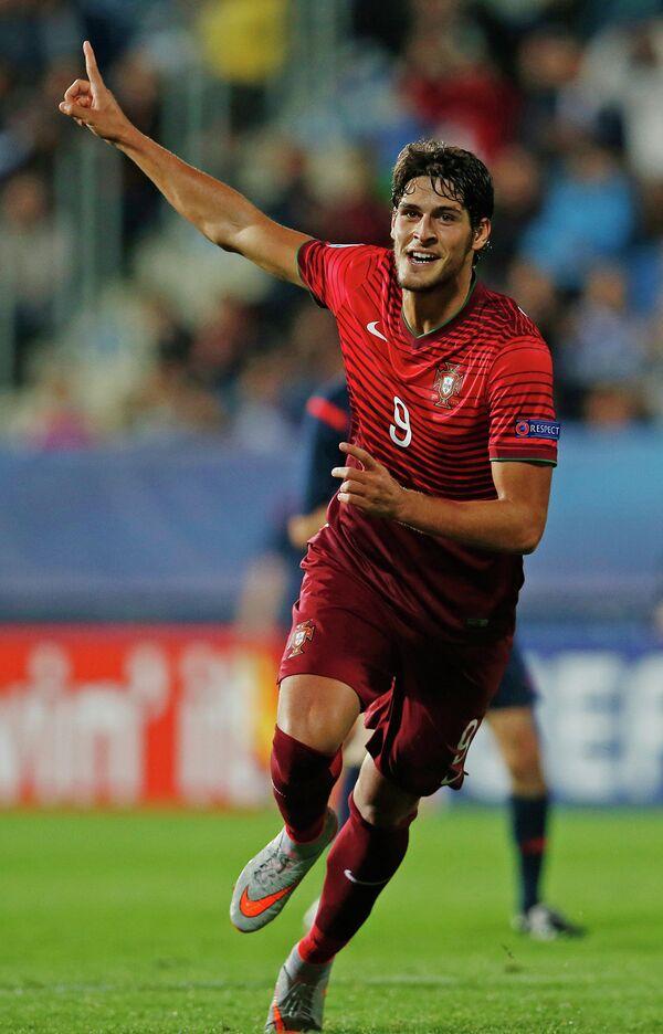 Футболист молодежной сборной Португалии