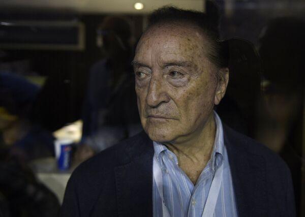 Президент Ассоциации футбола Уругвая Эухенио Фигередо