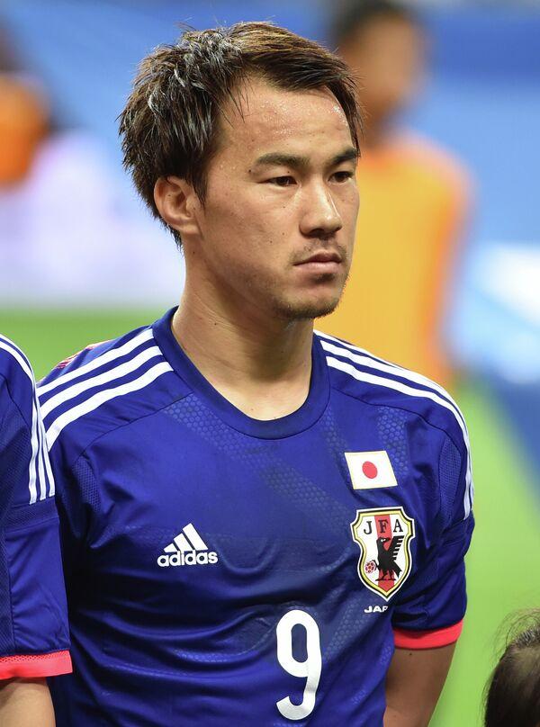 Нападающий сборной Японии Синдзи Окадзаки