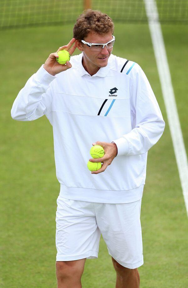 Узбекистанский теннисист Денис Истомин